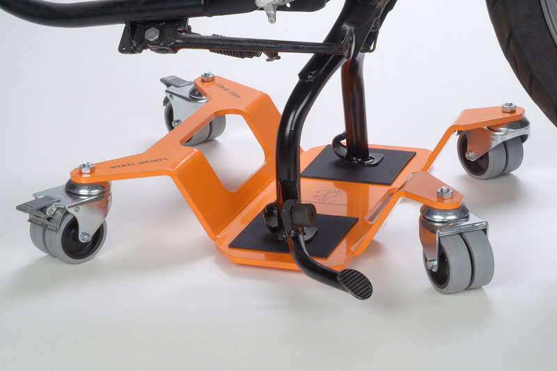 Originele Big-Bike Mover, voor de middenbok